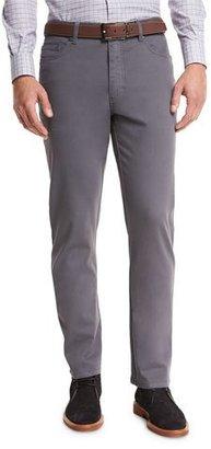 Ermenegildo Zegna ZW Five-Pocket Pants, Slate Gray $345 thestylecure.com