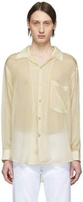 Eytys Off-White Cupro Donovan Shirt