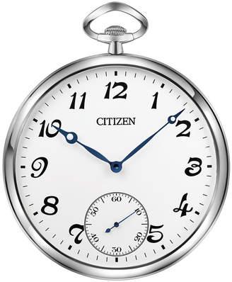 Citizen (シチズン) - Citizen Gallery Silver-Tone & White Pocket-Style Wall Clock