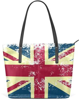 At Canada Lorvies Uk British Flag Pu Leather Shoulder Bag Purse And Handbags Tote For Women