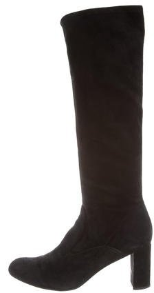 Valentino Valentino Suede Knee-High Boots