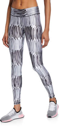Terez Abstract Printed Tall Band Leggings