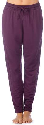 Pink Lotus Pl Movement By Women's PL Movement by Drawstring Fleece Sweatpants