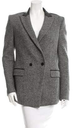 BLK DNM Wool-Blend Short Coat