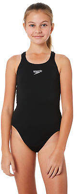 Speedo New Girls Kids Girls Endurance Medalist One Piece Polyester Black