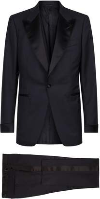 Tom Ford Shelton Satin Trim Two-Piece Suit