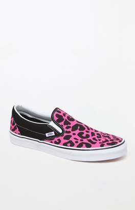 Vans Leopard Classic Slip-On Shoes