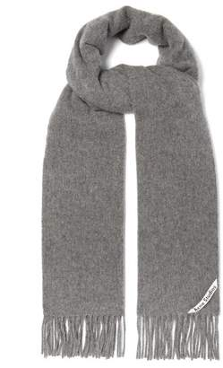 Acne Studios - Canada Narrow Wool Scarf - Mens - Grey