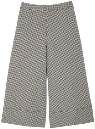 Co Houndstooth Culottes Pants