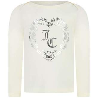 Juicy Couture Juicy CoutureBaby Girls Ivory Heart Top
