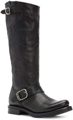 Frye Veronica Slouch Leather Tall Boots