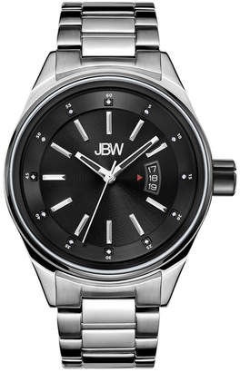 JBW Men's Rook Diamond & Crystal Watch