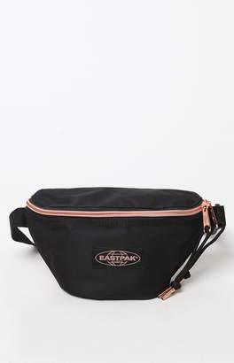 Eastpak Springer Black & Rose Gold Sling Bag