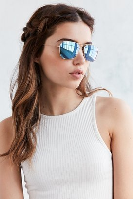 Ray-Ban Caravan Flash Aviator Sunglasses $215 thestylecure.com