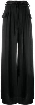 Self-Portrait wide-leg trousers