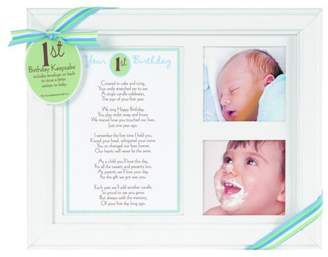 Grandparent Gift Co. The Photo Frame, First Birthday - Boy