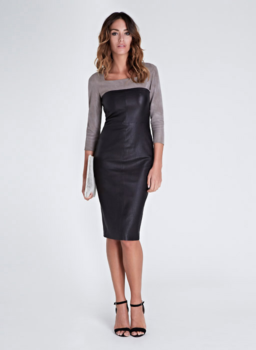 Isabella Oliver Liv Leather Dress