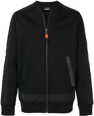 Diesel zipped bomber jacket