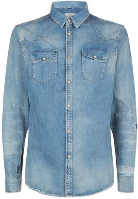 AllSaints Ilex Denim Shirt