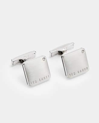 Ted Baker RESOL Corner crystal cufflinks