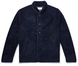 YMC Shawl-Collar Fleece Jacket