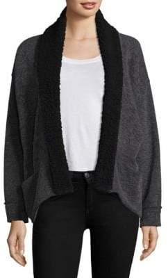 Splendid Knit Open-Front Cardigan