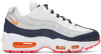 Nike White Air Max 95 Sneakers