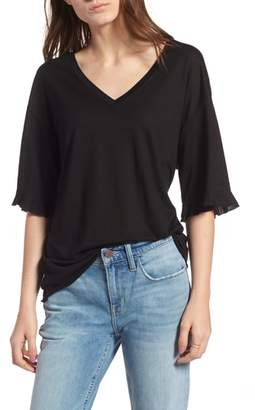 Treasure & Bond Ruffle Trim Tee