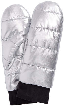 DKNY Quilted Puffer Mittens