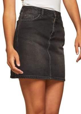 Miss Selfridge Denim Mini Skirt