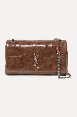 Saint Laurent Jamie Medium Quilted Leather Shoulder Bag - Brown