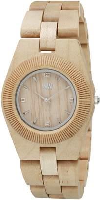 WeWood Women's Odyssey ODYSSEY- Wood Analog Quartz Watch with Dial