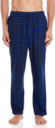 Nautica Check Cozy Fleece Pajama Pants