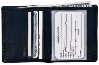Royce Leather Men's Bifold Wallet in Genuine Leather