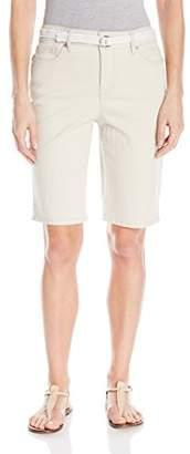 Bandolino Women's Mandie 5 Pocket Belted Bermuda
