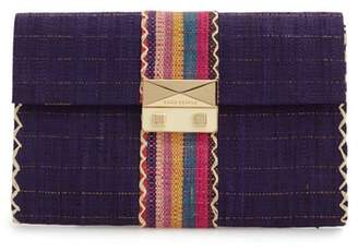 GOOD PEOPLE Woven Cocktail Clutch