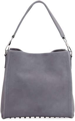 Alexander Wang Darcy Soft Shoulder Bag, Washed Denim