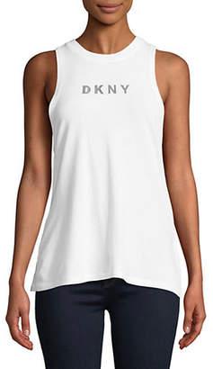 DKNY Logo Tank Top
