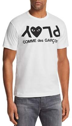 Comme des Garcons Upside Down Logo Short Sleeve Tee