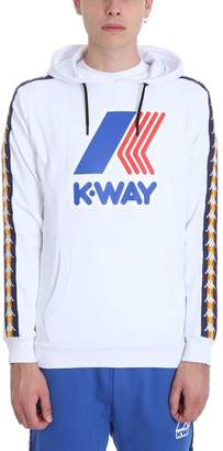 K-Way K Way White Cotton Sweatshirt