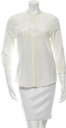 Boy. by Band of Outsiders Long Sleeve Button-Up Top $65 thestylecure.com