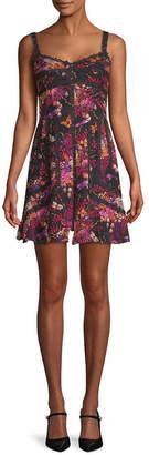 Anna Sui Butterflies & Bells Mini Dress