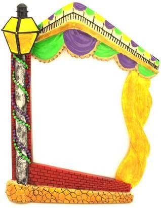 Louisiana Gifts & Gallery Mardi-Gras Lamp-Post Frame