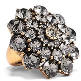 Women's Oscar De La Renta Swarovski Crystal Ring $295 thestylecure.com
