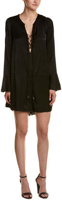 The Jetset Diaries Lace-Up Romper