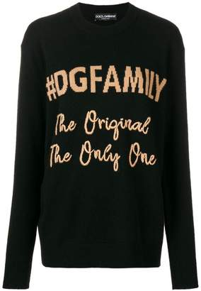 Dolce & Gabbana embroidered detail sweater