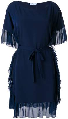 Blumarine rouche trimmed dress