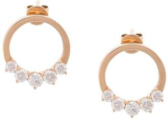 Anita Ko diamond hoop earrings