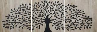 Soundslike HOME Sounds Like Home Tree Of Life Wood Panels Black