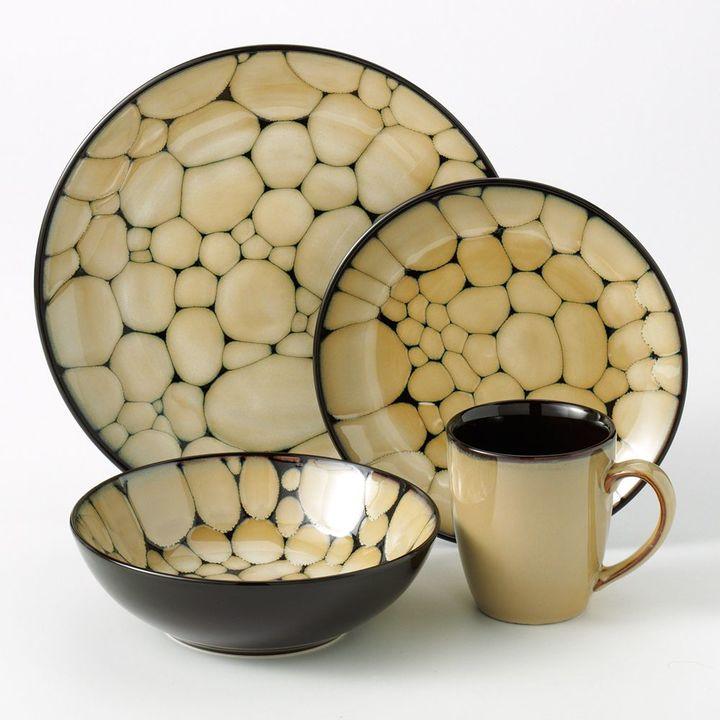 SONOMA Goods for LifeTM Cobblestone 16-pc. Dinnerware Set